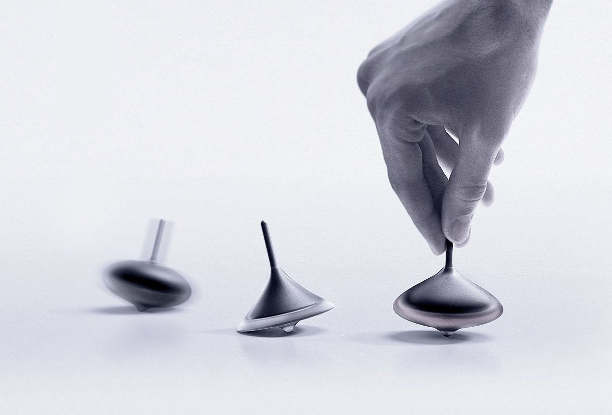 spinning top product design
